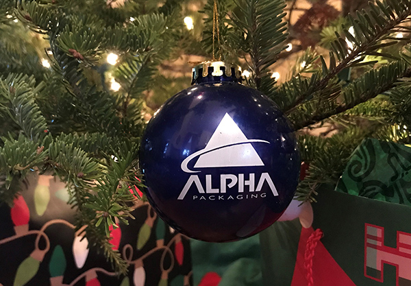 Alpha ornament