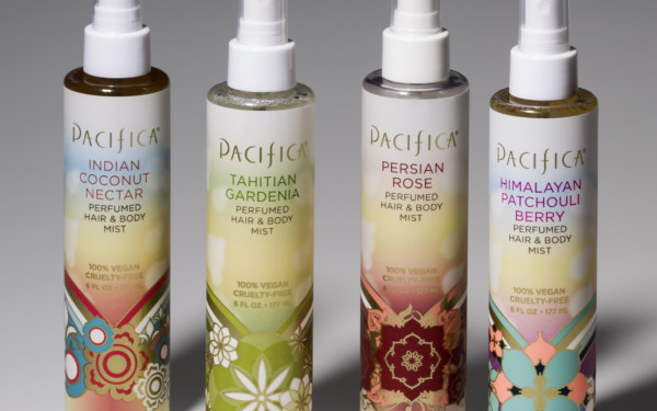 Pacifica Personal Care Bottles