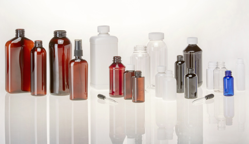 Various Cannabis Bottles
