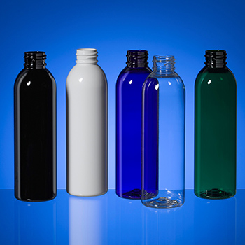 PET 2-stage cosmo round bottles