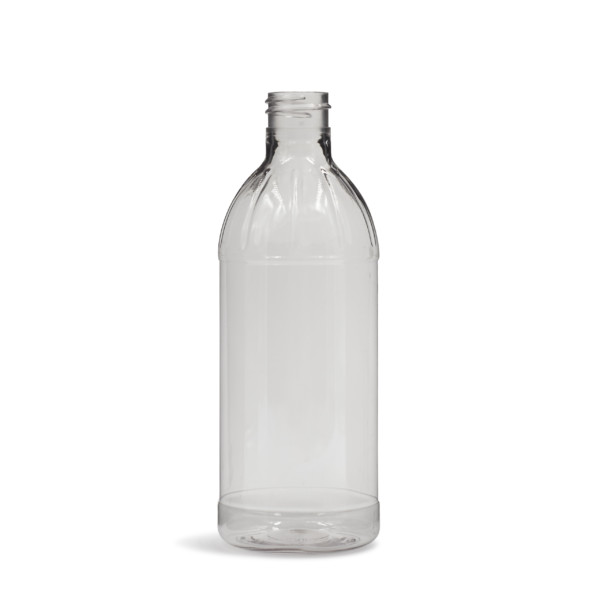 PET Rio Fluted Round Bottle