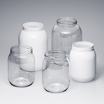 PET Big Round Jars