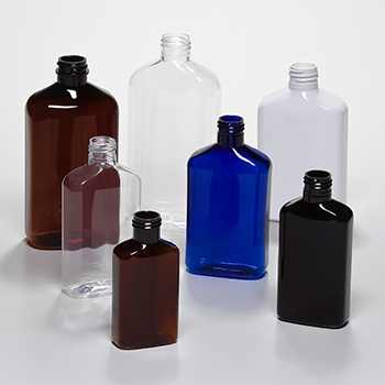 PET metric oblong bottles