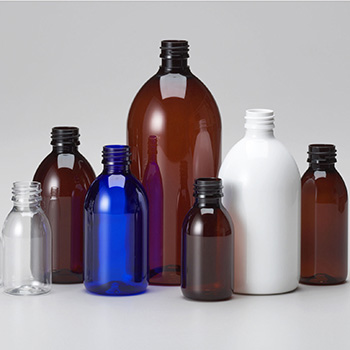 PET Pharma Syrup Bottles
