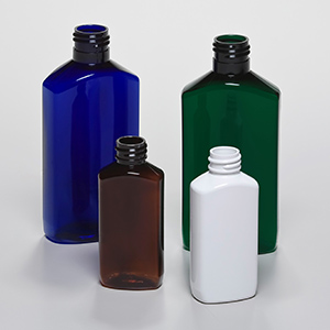PET drug oblong bottles