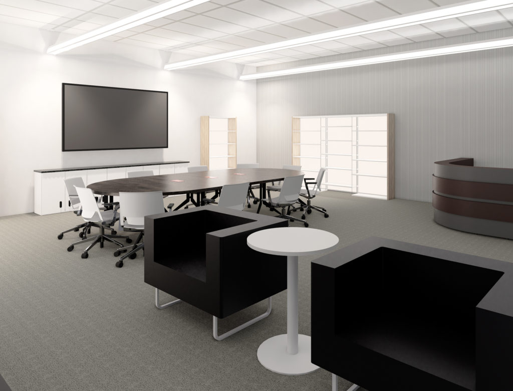 Design Center Interior Design Mockup