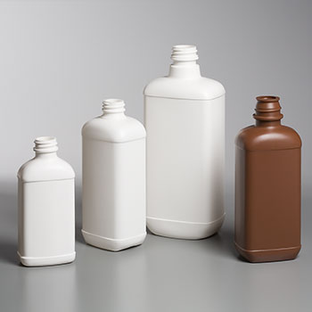 HDPE Blake Shelfpack Oblong Bottles