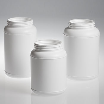 HDPE Indented Large Round Bottles